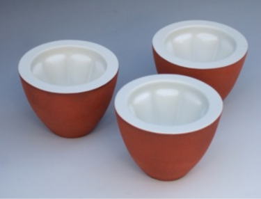 Double walled Pate or Jelly Moulds