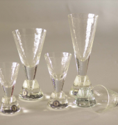 The Cone Glass stemware