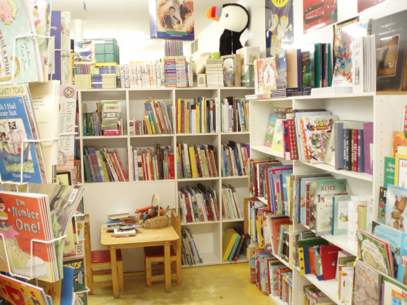 Children's section of the Hobart Bookshop