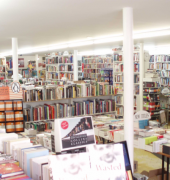 Interior of the Hobart Bookshop