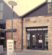 Exterior of the Hobart Bookshop
