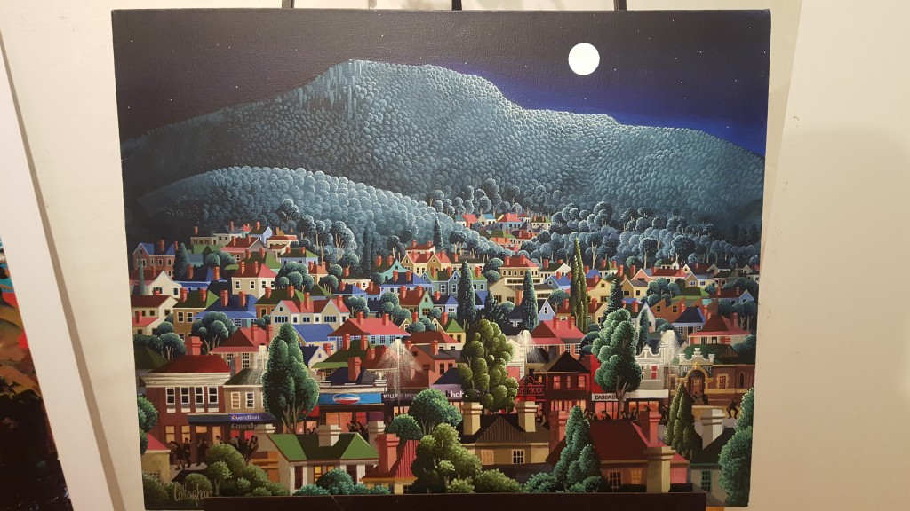 Oil on Canvas - North Hobart
