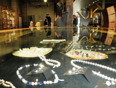 Handcrafted jewellery at Henry Jones Design Gallery