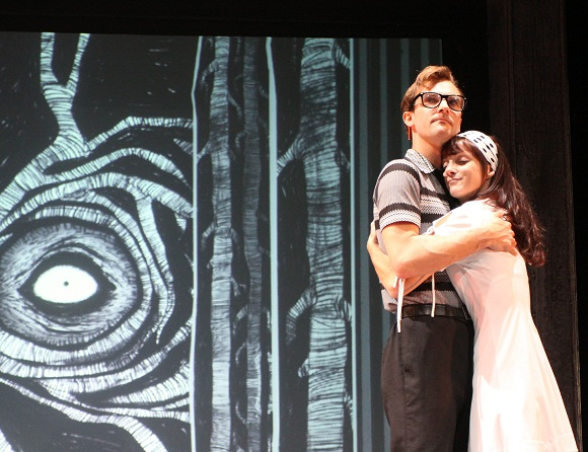 """Production still of """"Dancing Back Home"""" a play by Chris Jackson and Jane Johnson"""