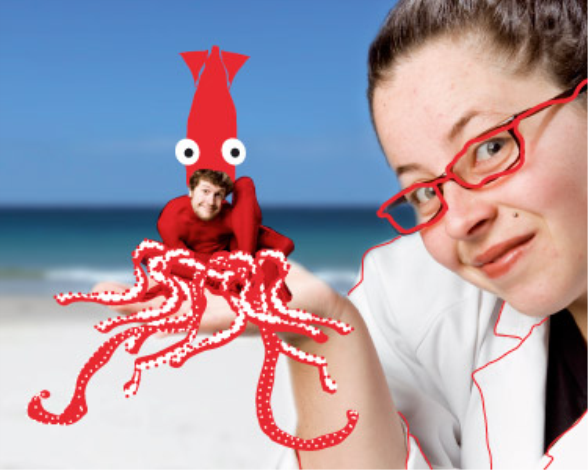 Promotional image of The Girl and her Squid