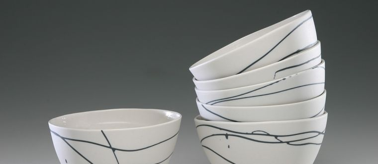 Image of Lisa Boyter's tea bowls