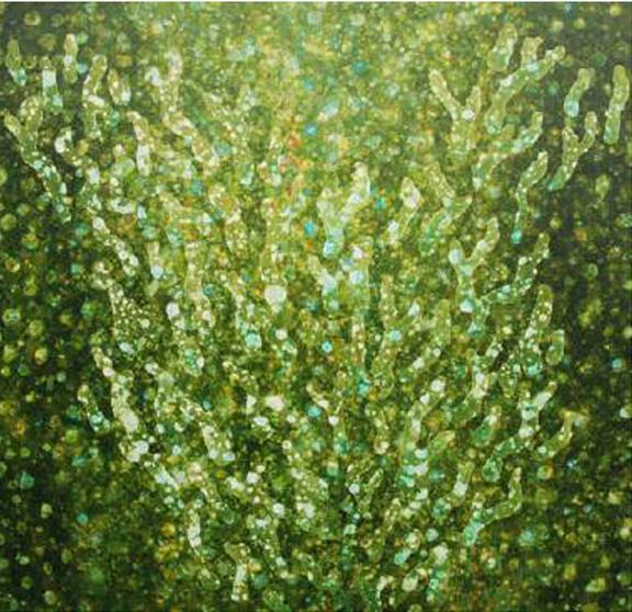 Image of Anne Morrison's painting, 'Coral #2'