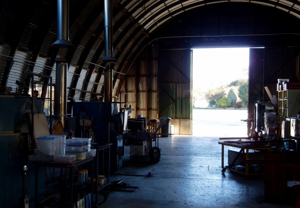 Tasmanian Glassblowers workshop