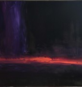 Image of Geoff Dyer's painting, 'Study for Apocalypse'.