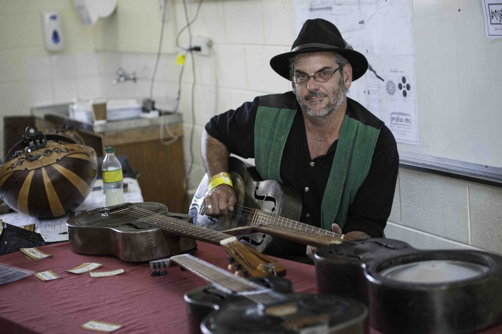 Instrument Makers Showcase Cygnet Folk Festival