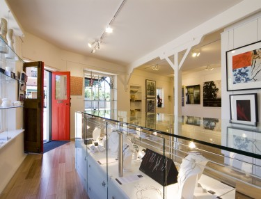Interior of Handmark Gallery Evandale