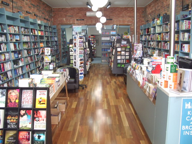 Inside the Devonport Bookshop