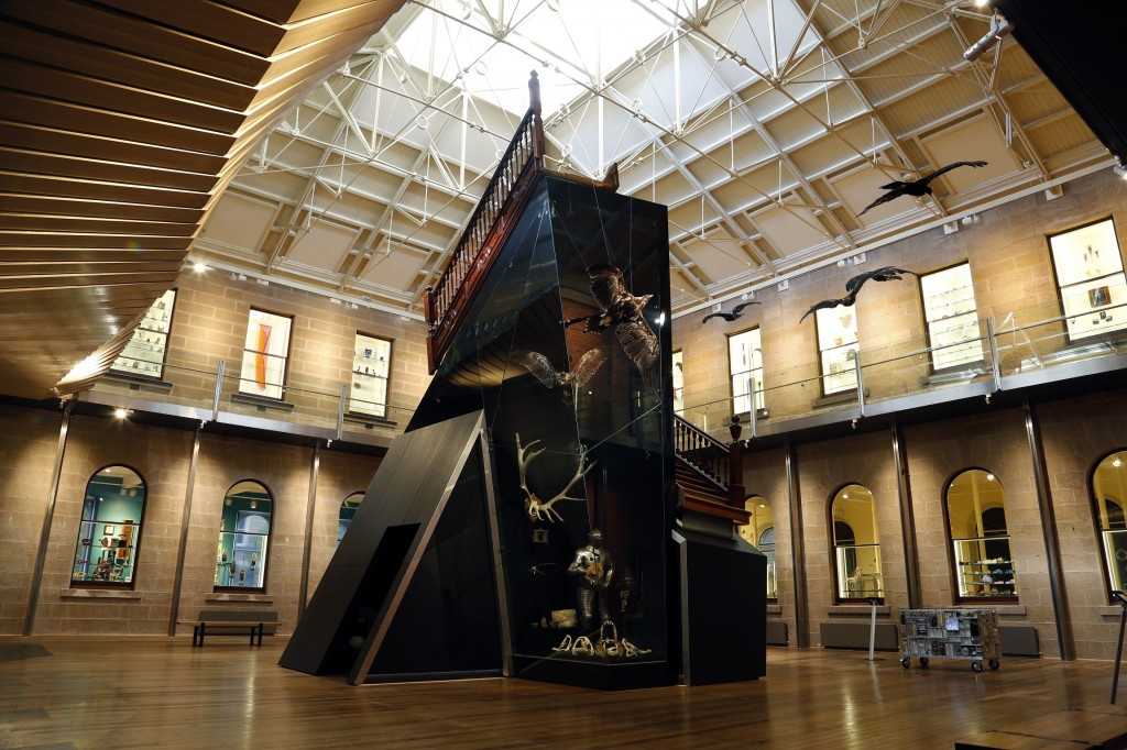 Main gallery at TMAG - Tasmanian Museum and Art Gallery