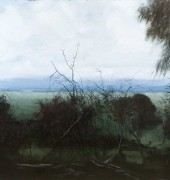 Image of Philip Wolfhagen's painting, 'Journey to the Source VI'.