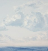 Image of Philip Wolfhagen's painting, 'New Exaltation Concept No.8'.