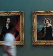 Portraits at Queen Victoria Museum & Art Gallery - QVMAG