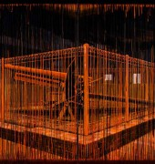 Image of Raymond Arnold's painting, 'Dominating the Enemy, 5am Queenstown RSL'.