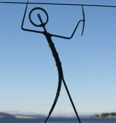 Nick Attfield Spear Man Sculpture