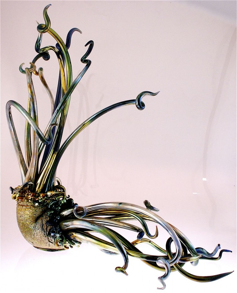Glass artwork