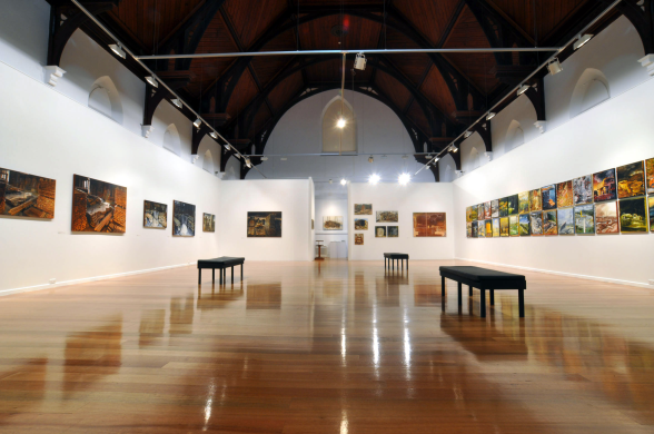 Image of the inside of Devonport Regional Gallery
