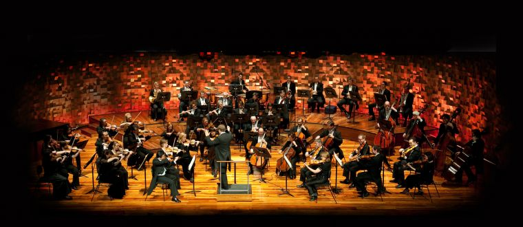 Image of the Tasmanian Symphony Orchestra in concert