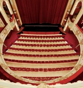 Theatre Royal - view from dress circle to stalls seating