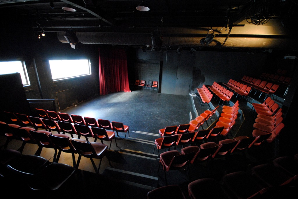 Theatre Royal Backspace (view seating to stage)