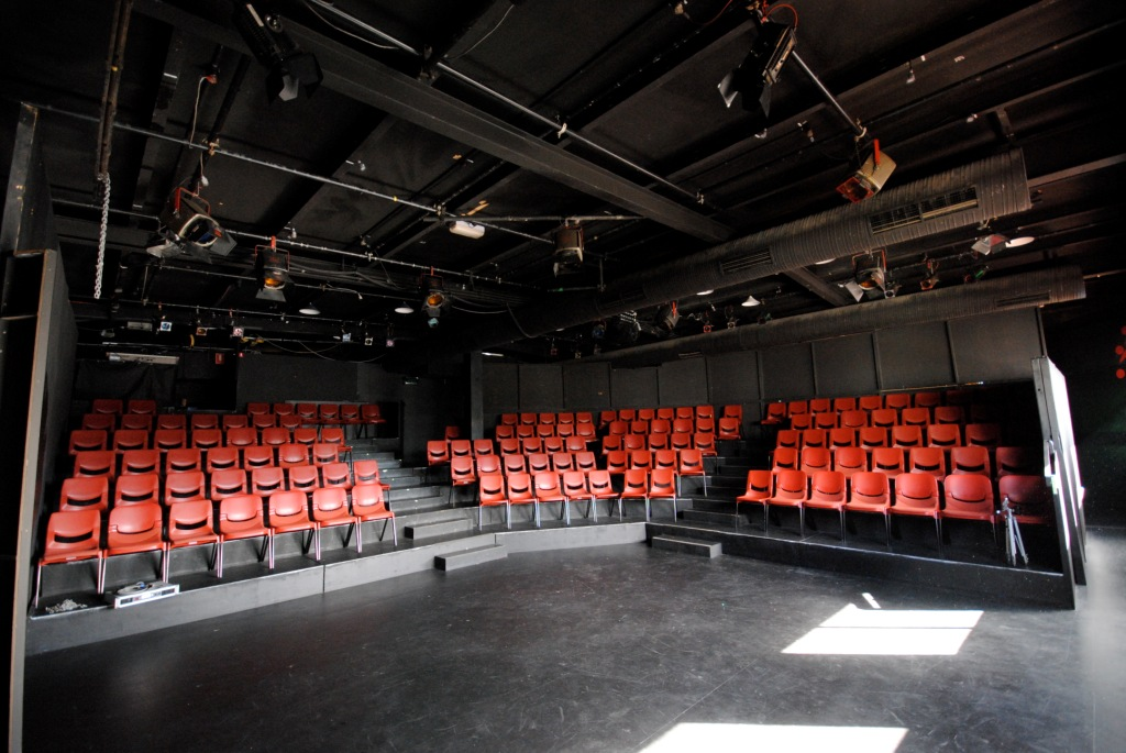 Theatre Royal Backspace (view stage to seating)