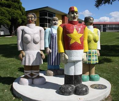 Image of 'Workers of the World Unite' by Anthony Woodward
