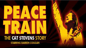 Promotional image for Peace Train - The Cat Stevens Story