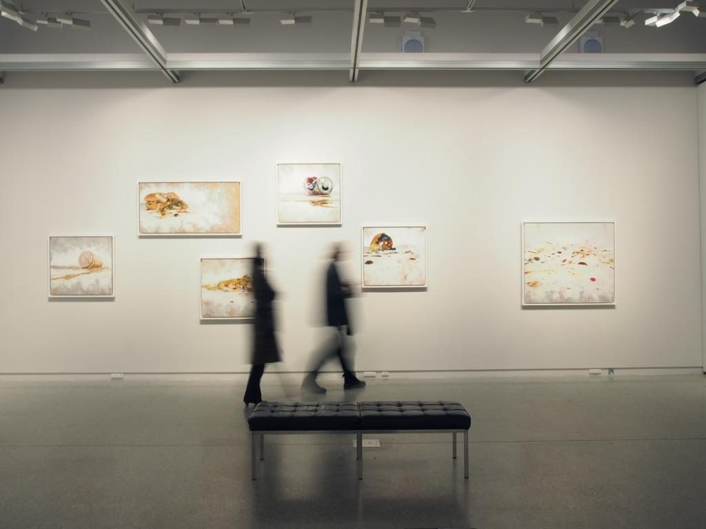 Installation view of Nathan Taylor's exhibition Decoding Visual Excess