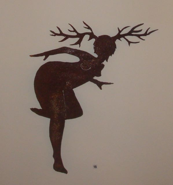 Plasma cut wall sculpture