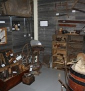 An image of a display at the Channel Heritage Centre