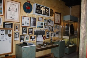 Image of the war display at the Channel Heritage Centre