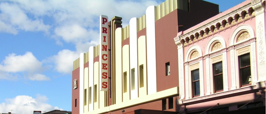 Princess Theatre- Launceston, Tasmania. Image courtesy of Theatre North