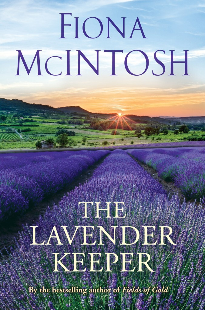 Book cover of The Lavender Keeper by Fiona McIntosh