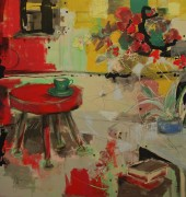 Susan Doust - Mess in the studio