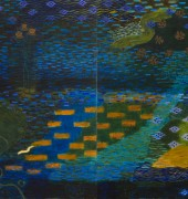 Image of Tim Burn's painting 'Blue River'