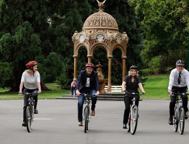 ARTBIKES in Launceston's City Park