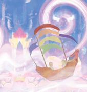 Image from the book cover of 'Sky Dreamer' by Anne Morgan. Illustrated by Celine Eimann