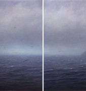 oil on linen, diptych