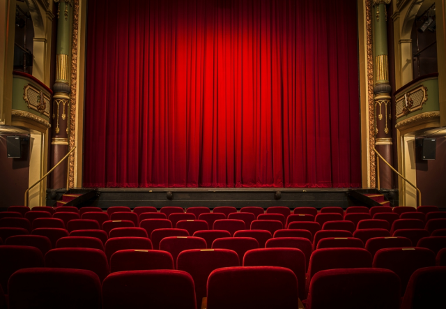 Red Curtain at the Theatre Royal