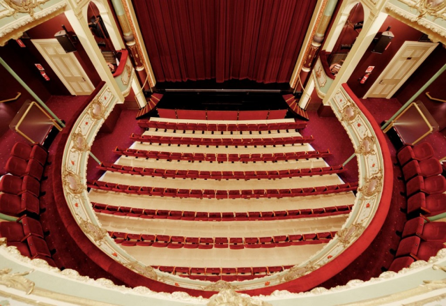 Theatre Royal - view from the dress circle