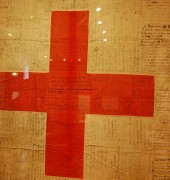 Signed flag from First World War