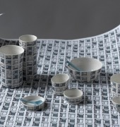 Ceramics and wallpaper