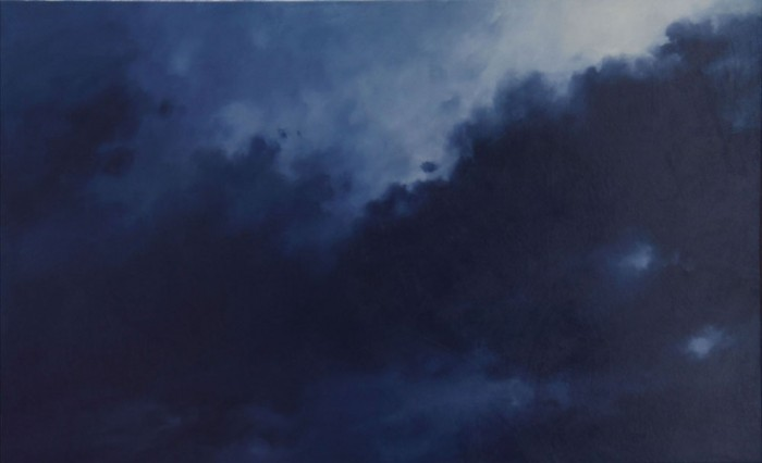 oil on canvas, 56 x 90cm
