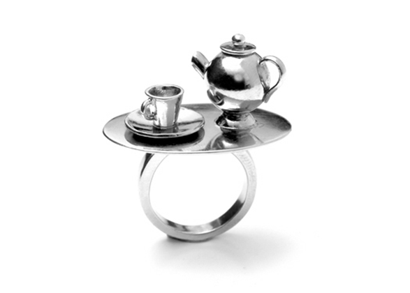 Tea set Ring