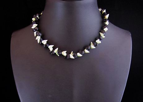 Maireener and Black Crow Shell Choker