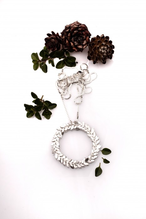 Foliage Wreath Necklace