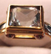 Radiant Rectangle Ring